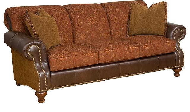 hickory chair leather couch massage india king living room lana fabric sofa 57250 lf