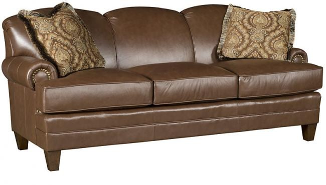 albany leather sofa living room decorating ideas dark brown king hickory callie 5050 l schmitt