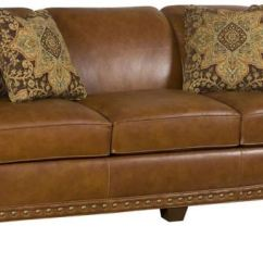 Crescent Sofa Leather Stylus Showroom Burnaby King Hickory Living Room Hillsdale 9300 L
