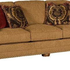 King Hickory Sofa Winston Convertible Bed With Storage Living Room Ricardo Fabric 9900 Meg