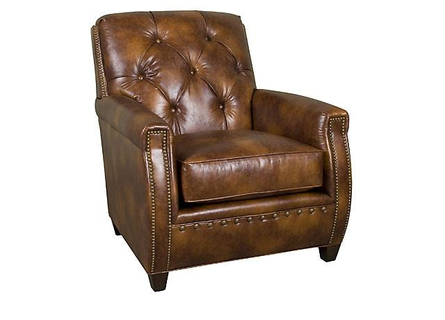 Chair King San Antonio King Hickory Living Room Wyatt Leather Chair C34 01 L