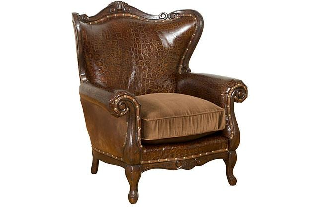 Chair King San Antonio King Hickory Living Room Isabella Chair W 681 Lf Louis