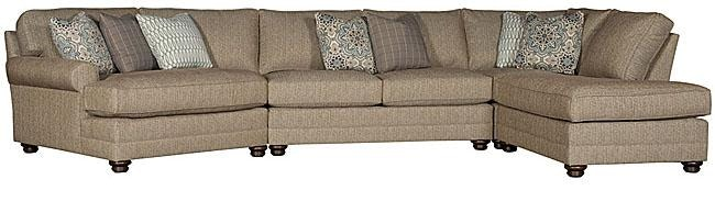 king hickory sofa winston sure fit stretch leather 2 piece t cushion slipcover fabric sectional 7400 sect