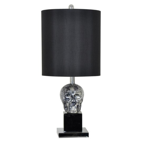 black skull chair reclining outdoor chairs canada crestview lamps and lighting table lamp