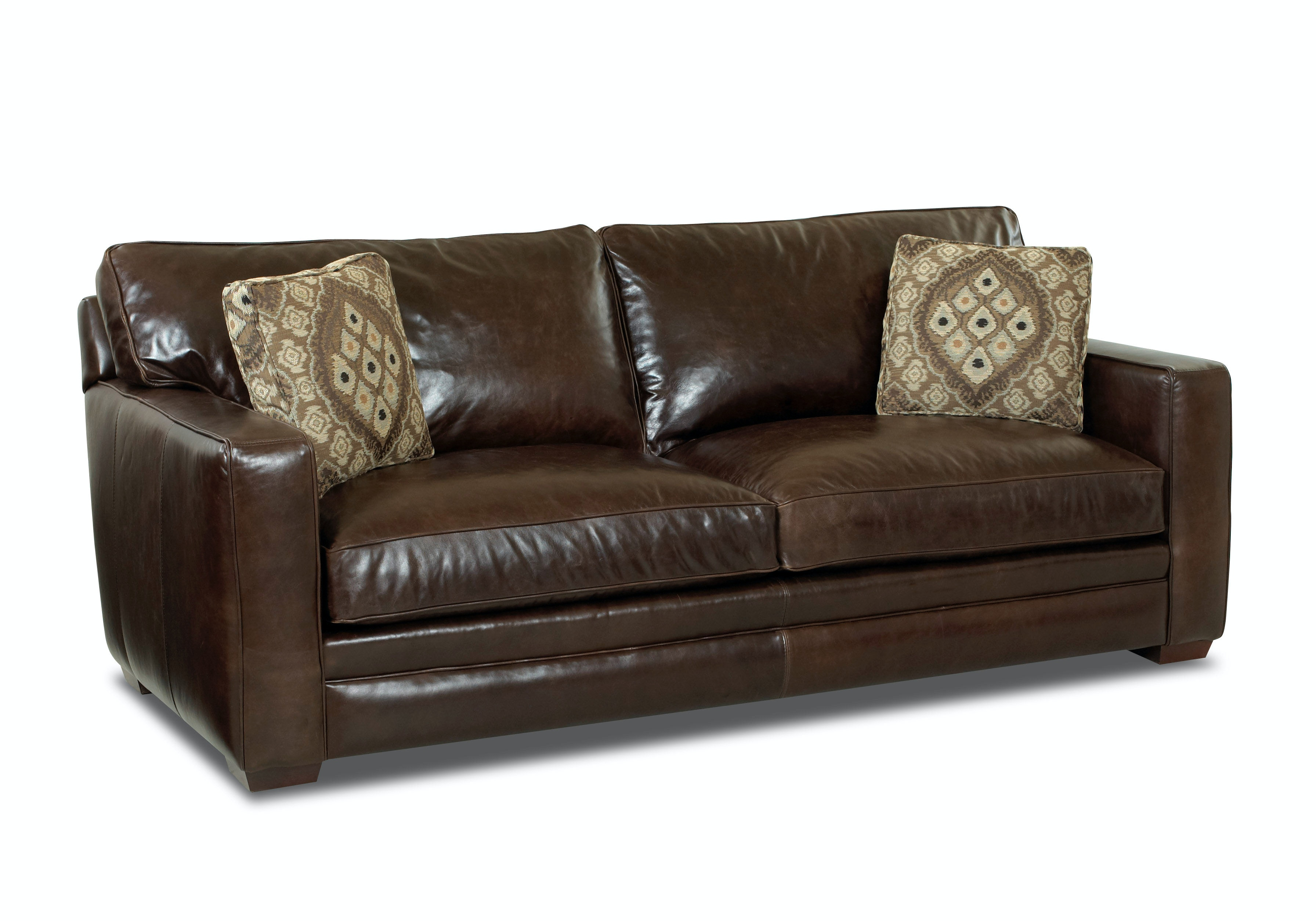 miramar leather sofa dimensions in inches comfort design living room chicago cl1009 dqsl