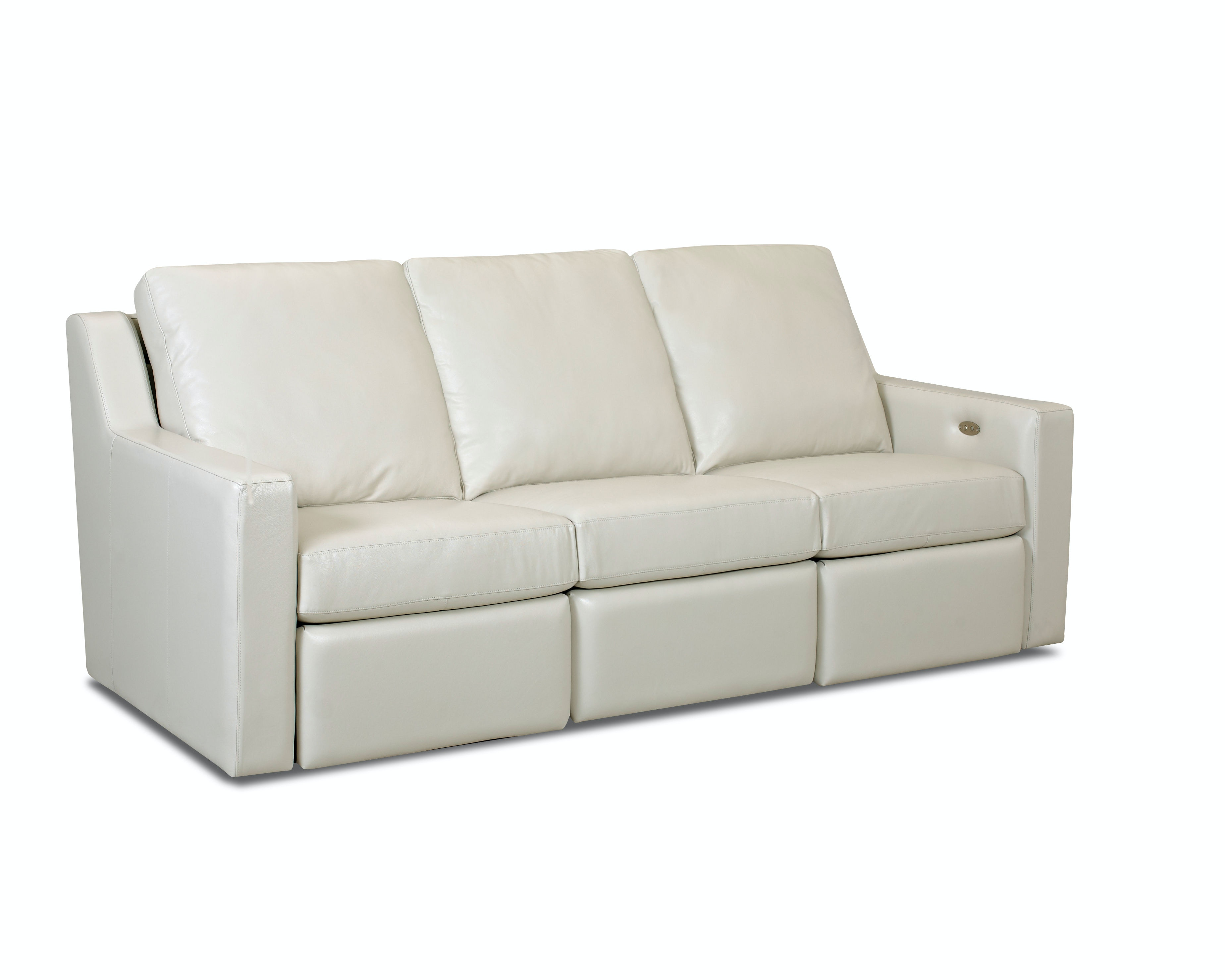 miramar leather sofa baxton studio keeney bed comfort design living room south village ii cl282pb
