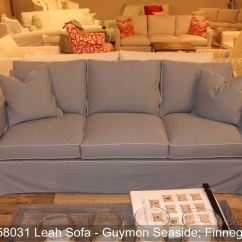 Southern Furniture Gibson Sofa Liatorp Table White Glass Living Room Leah Slipcover 58031