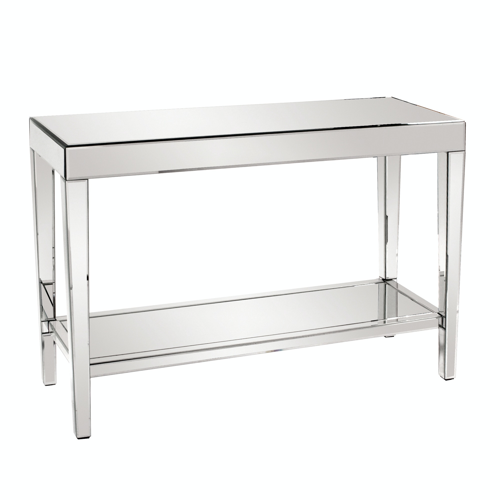 living room console tables mirrored recliners howard elliott orion table with shelf 11096 at finesse furniture interiors