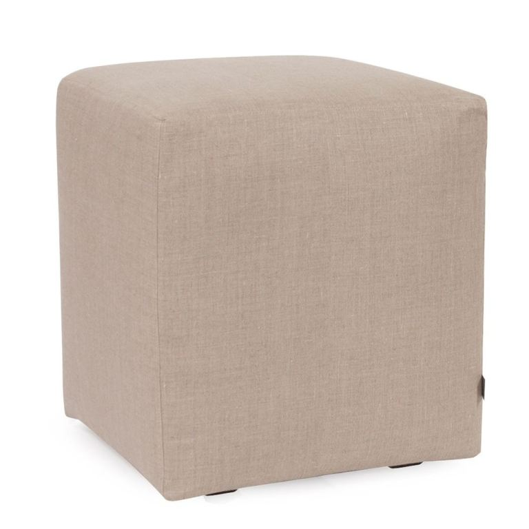 living room replacement slipcover exclusively made for howard elliott universal cube ottoman 100 polyester fabric ottoman not included prairie