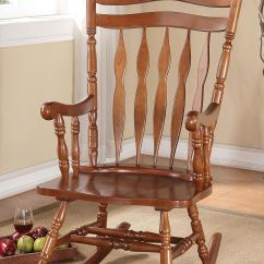 Walnut Furniture Living Room Sets In South Africa Acme Dark Rocking Chair 59209 The At Mall