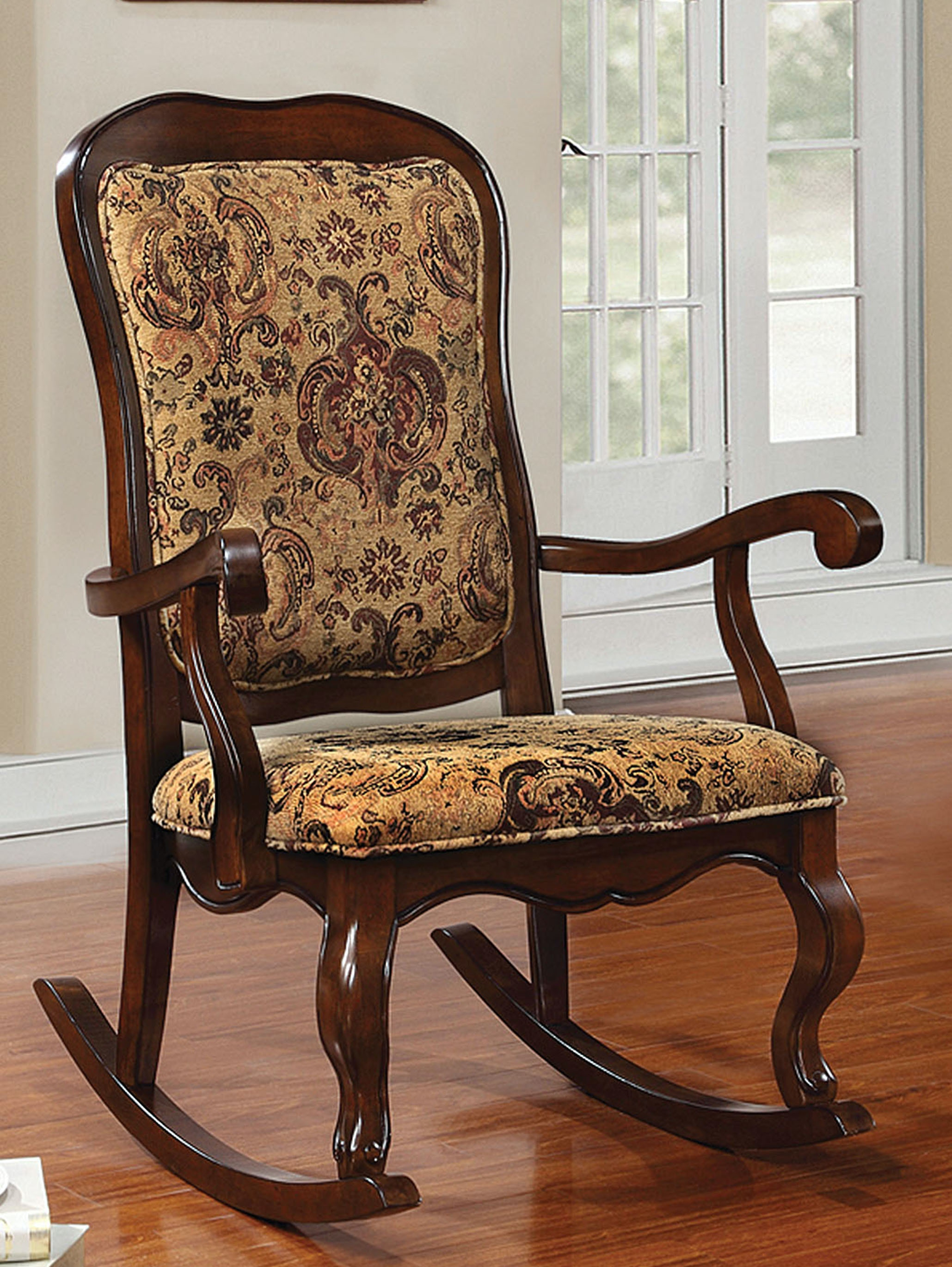 discount rocking chairs chair covers for small recliners acme furniture living room sharan 59390