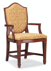 Fairfield Chair Company Dining Room Veneta Arm Chair 8710 ...