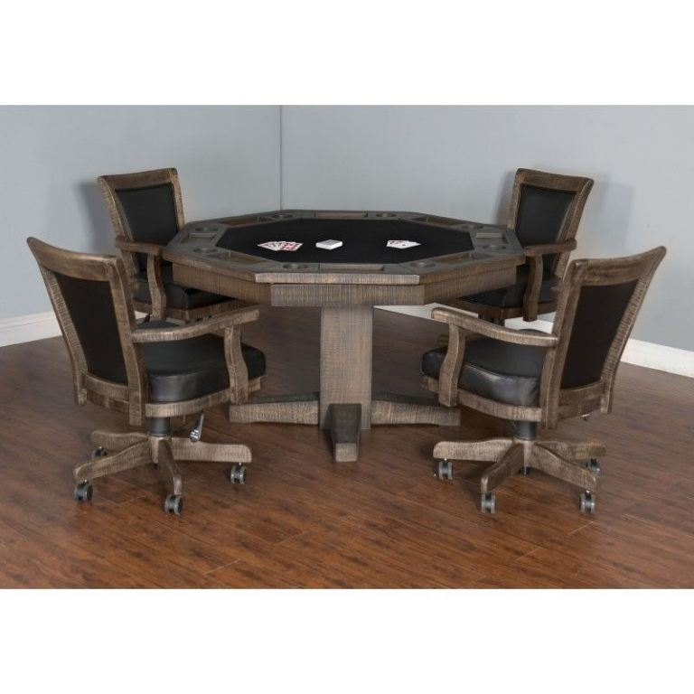 Sunny Designs Bar and Game Room Tobacco Leaf Game Chair