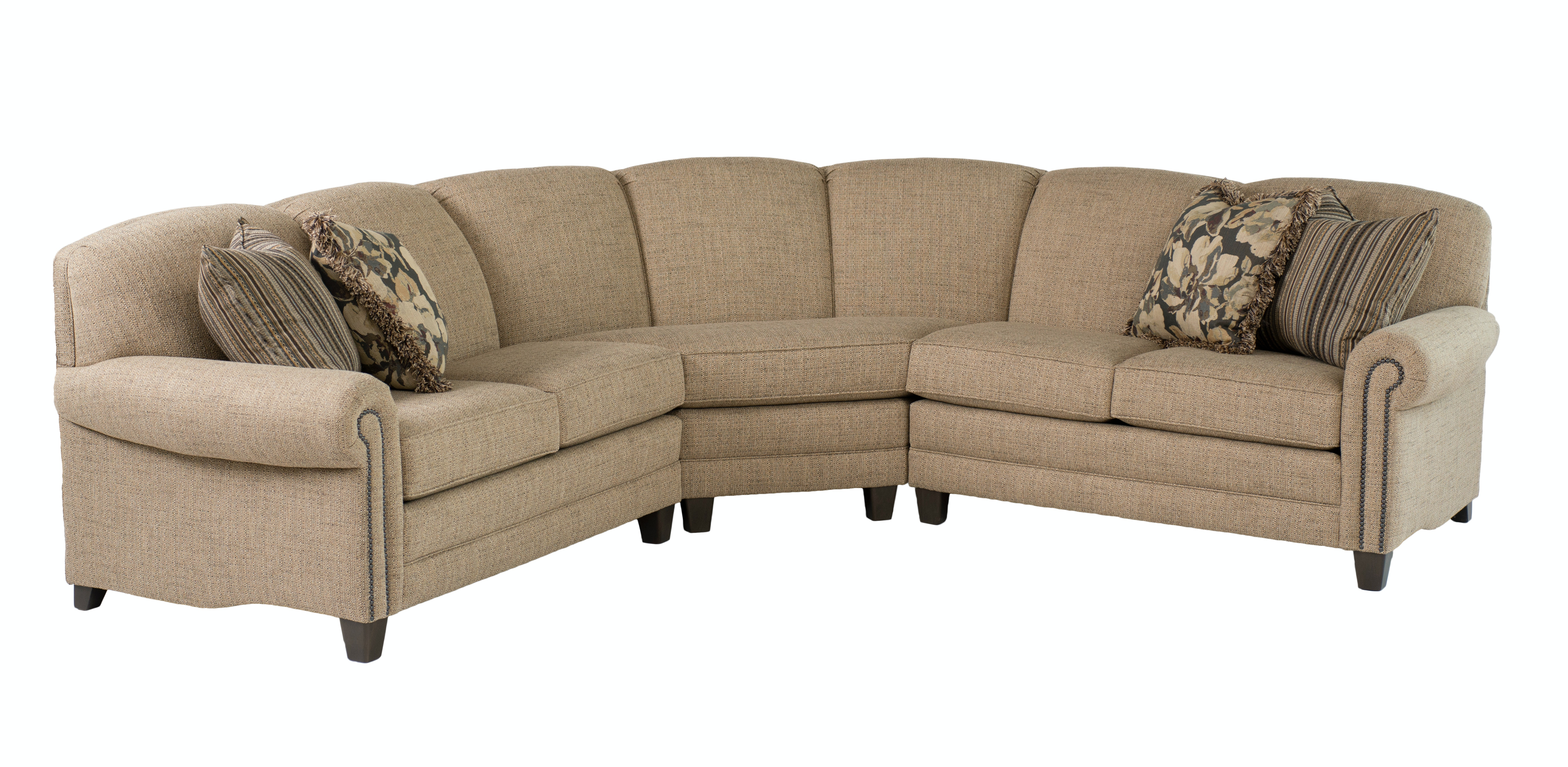 Smith Brothers Living Room 397-sectional - Whitley