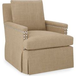Grey Fabric Swivel Office Chair Best Sports With Shade Larren Living Room Clara 7025-sw - Whitley Furniture Galleries Raleigh, Nc