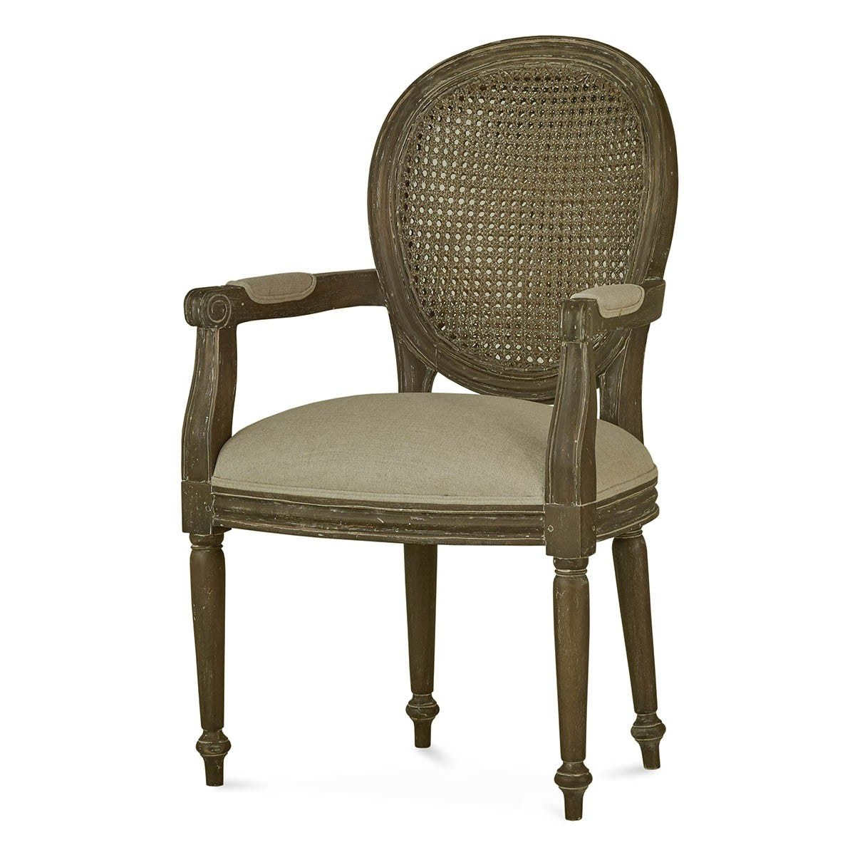 chair without back ergonomic cushion amazon bramble dining room tulip rattan arm flutted leg 26511 at pamaro shop furniture