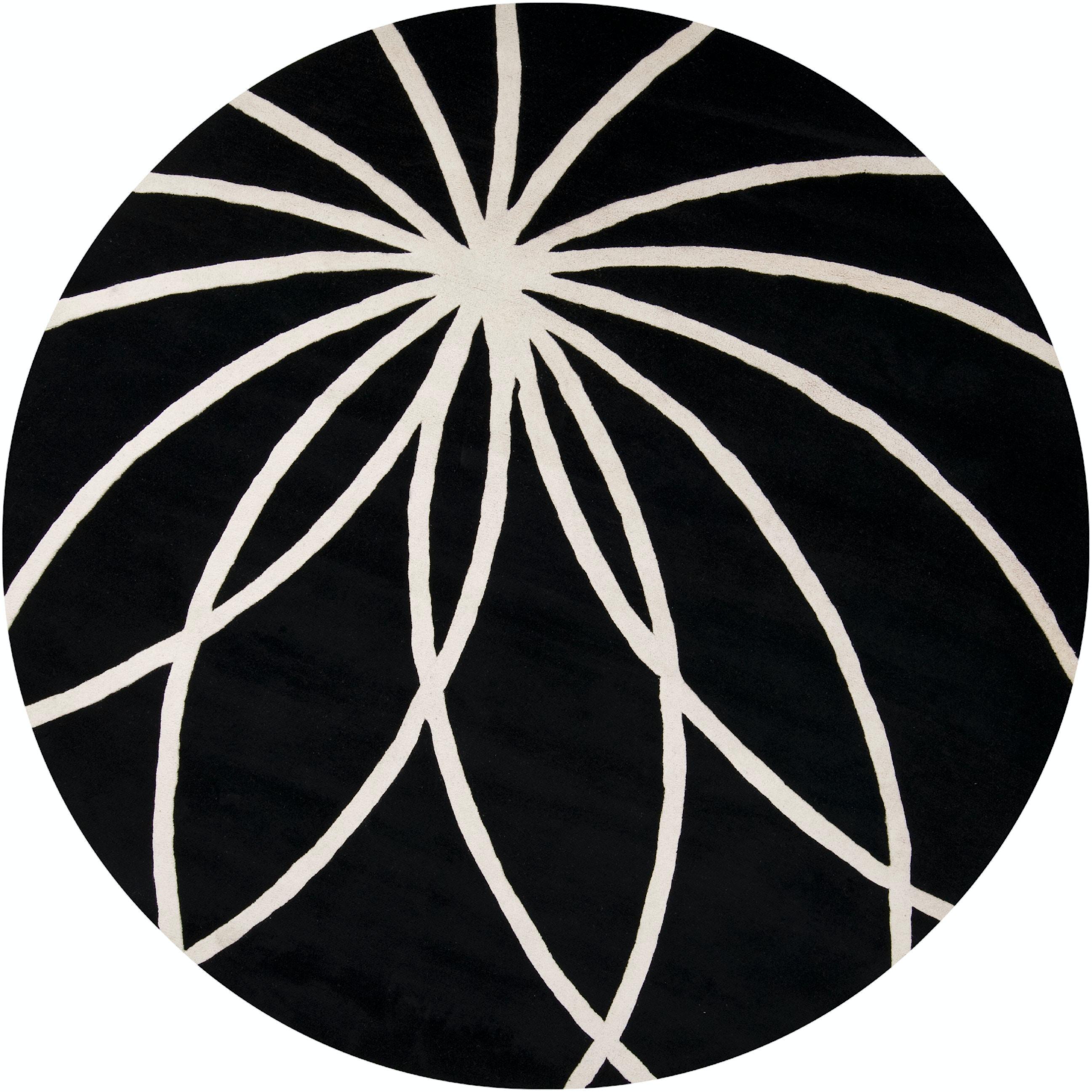 Surya Floor Coverings Forum 8 Round Rug Sryfm70728rd Walter E Smithe Furniture Design