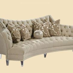 Marge Carson Chairs Lenox Christmas Chair Covers Sofas Living Room Deville Sofa