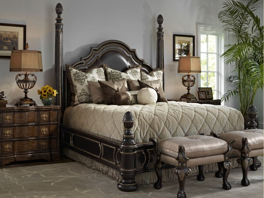 Marge Carson Bedroom Morgan Hill Bedding Package MH95 ...