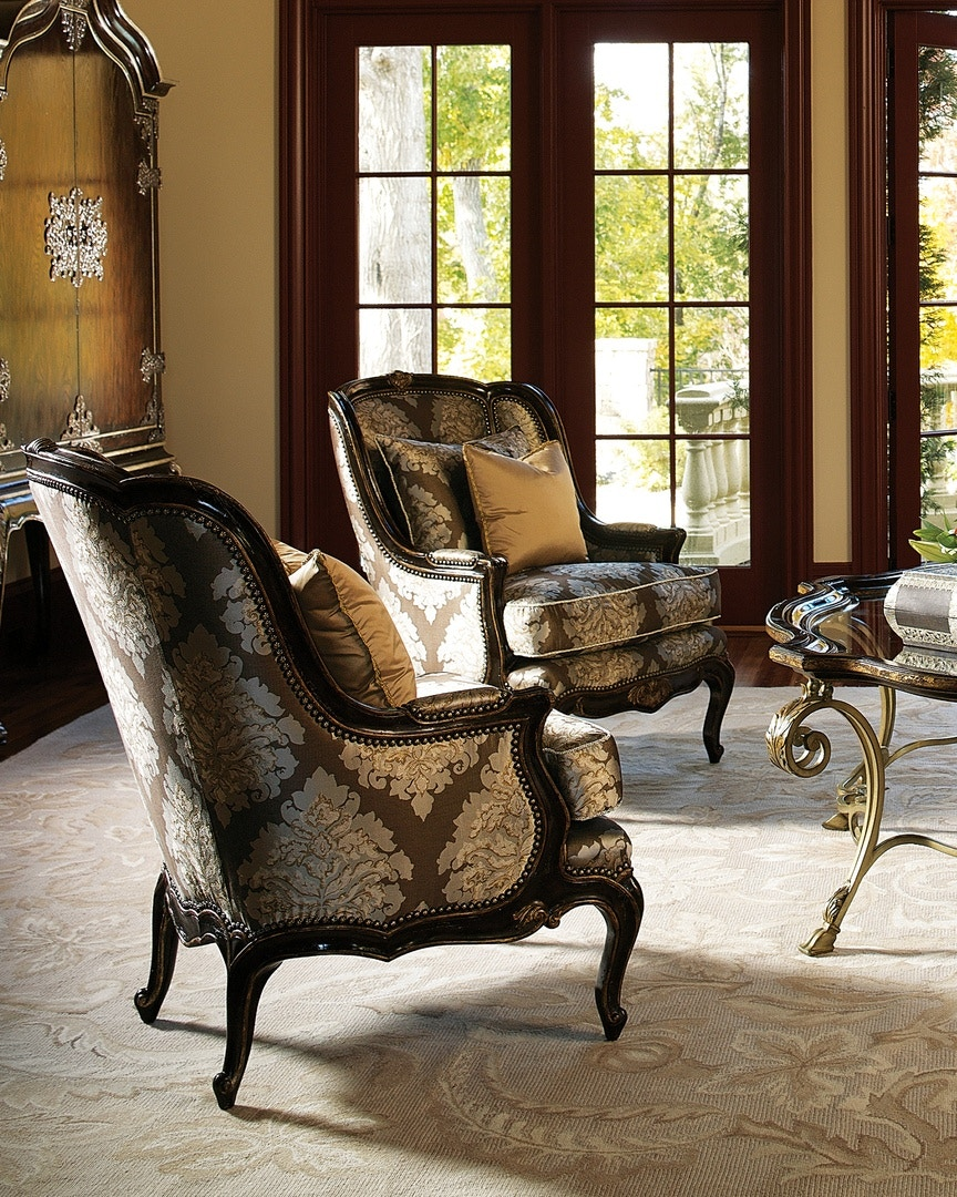 marge carson chairs oversized chair recliner living room marguerite mrg41 louis shanks