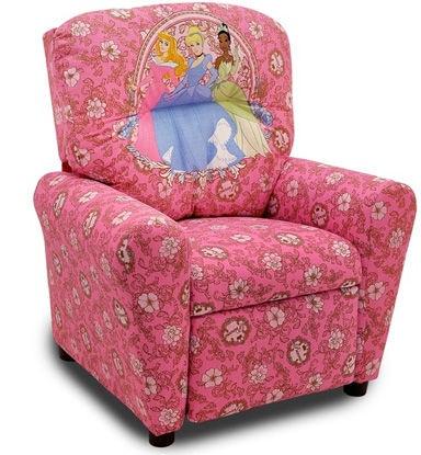 disney princess chair ergonomic mat kidz world furniture youth recliner 1300