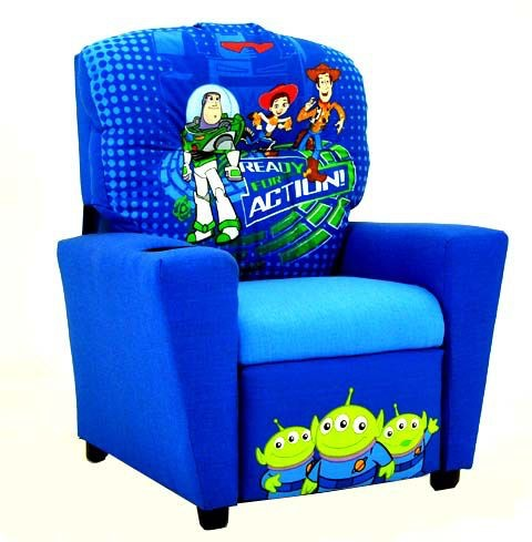 Kidz World Furniture Youth Disney Toy Story Recliner 1300