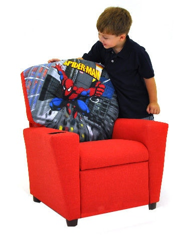 john deere office chair wall protector from chairs kidz world furniture youth spiderman recliner 1300