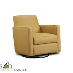 Living Room Swivel Glider Chairs Ideas Rooms Modern Fusion Chair 402 Ggold Mine Citrine At Dewey Furniture