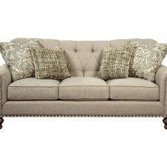 Plaid Sofa Cushions Landon Urban Home Paula Deen By Craftmaster Living Room P754150bd ...