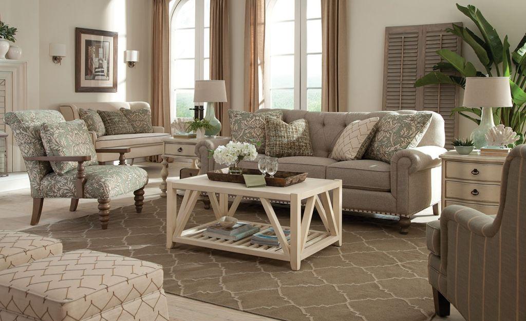 Paula Deen by Craftmaster Living Room Sofa P754150BD