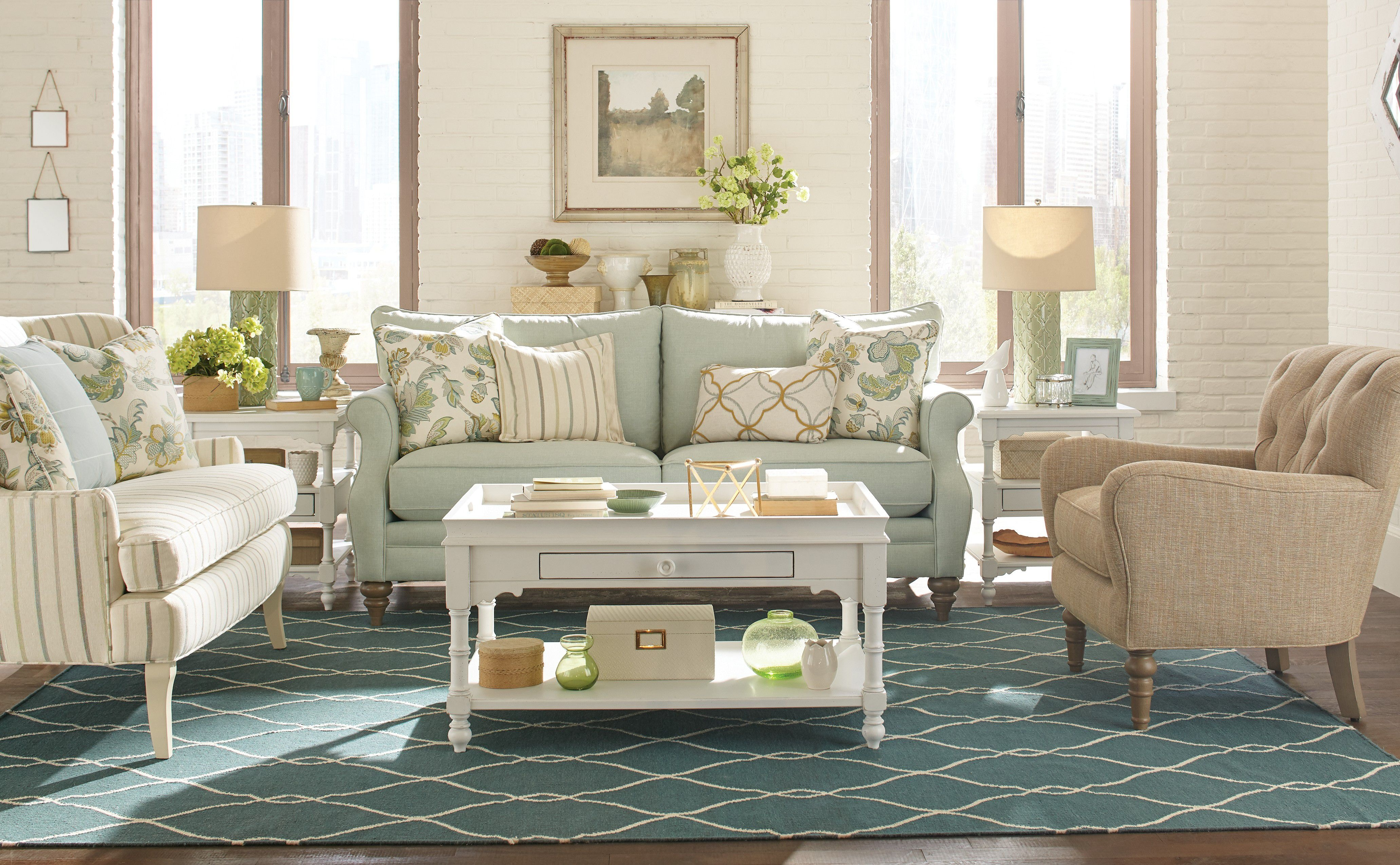 paula deen living room furniture collection best pop ceiling design for by craftmaster sofa p775650bd