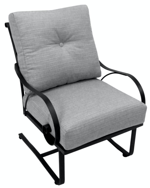 Meadowcraft OutdoorPatio Monticello Club Spring Chair