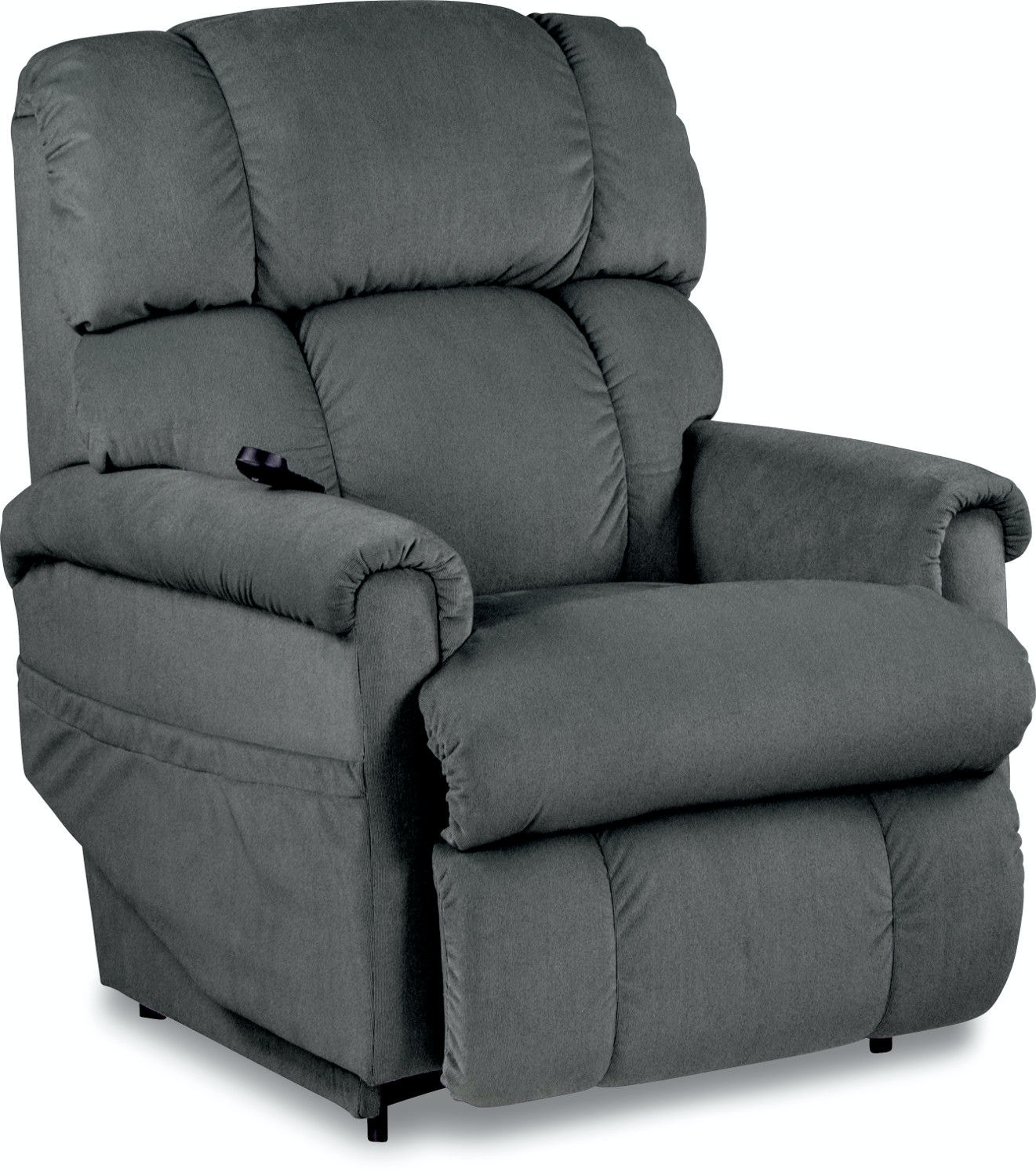 la z boy lift chair hand control lazy with fridge and speakers living room platinum luxury power recline xr