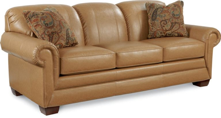 Consider fabric, function and style when selecting furniture for your remodel. Living Room La-Z-Boy® Premier SUPREME-COMFORT™ Queen Sleep ...