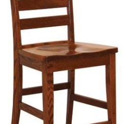 Shaker Ladder Back Chair Adirondack Wine Barrel Chairs Canal Dover Furniture Bar And Game Room Ladderback Counter 11710