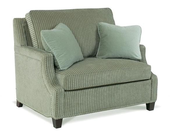 chair and a half with sleeper stool height motion craft living room twin