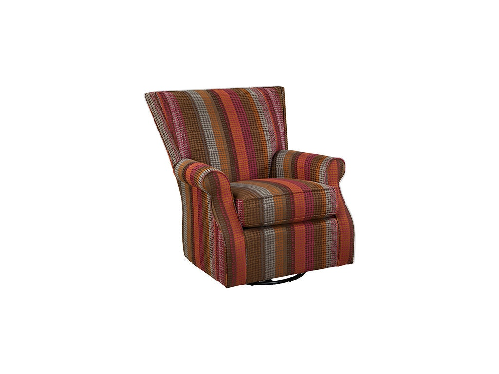 living room swivel glider chairs theater boca raton purchase tickets cozy life chair 033810sg doughty s at furniture inc