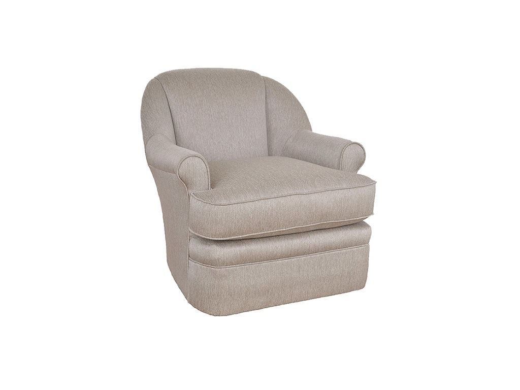 swivel chair in living room child size cushions hickorycraft 087010sc