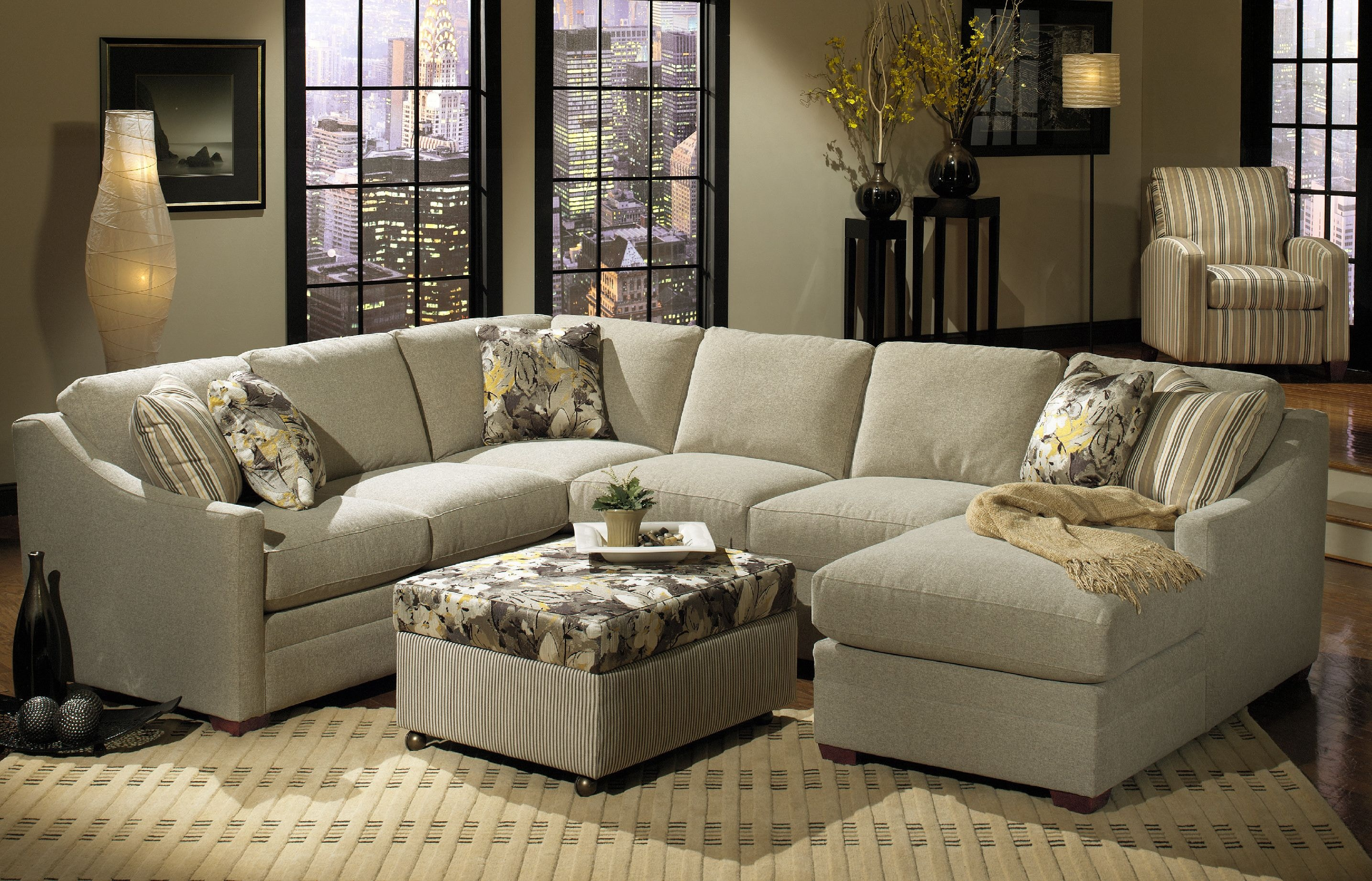 craftmaster sectional sofa reviews rubber feet pads living room f9332 sect