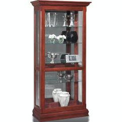 Living Room Glass Display Cabinets Wall Color Ideas 2018 Jasper Cabinet Sliding Curio P603 00 At Aaron S Fine Furniture