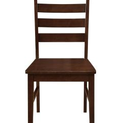 Ladder Back Dining Chairs Medical Stair Chair Wood Set Of 2 Wedch2lbwt Ft Myers From Walter E