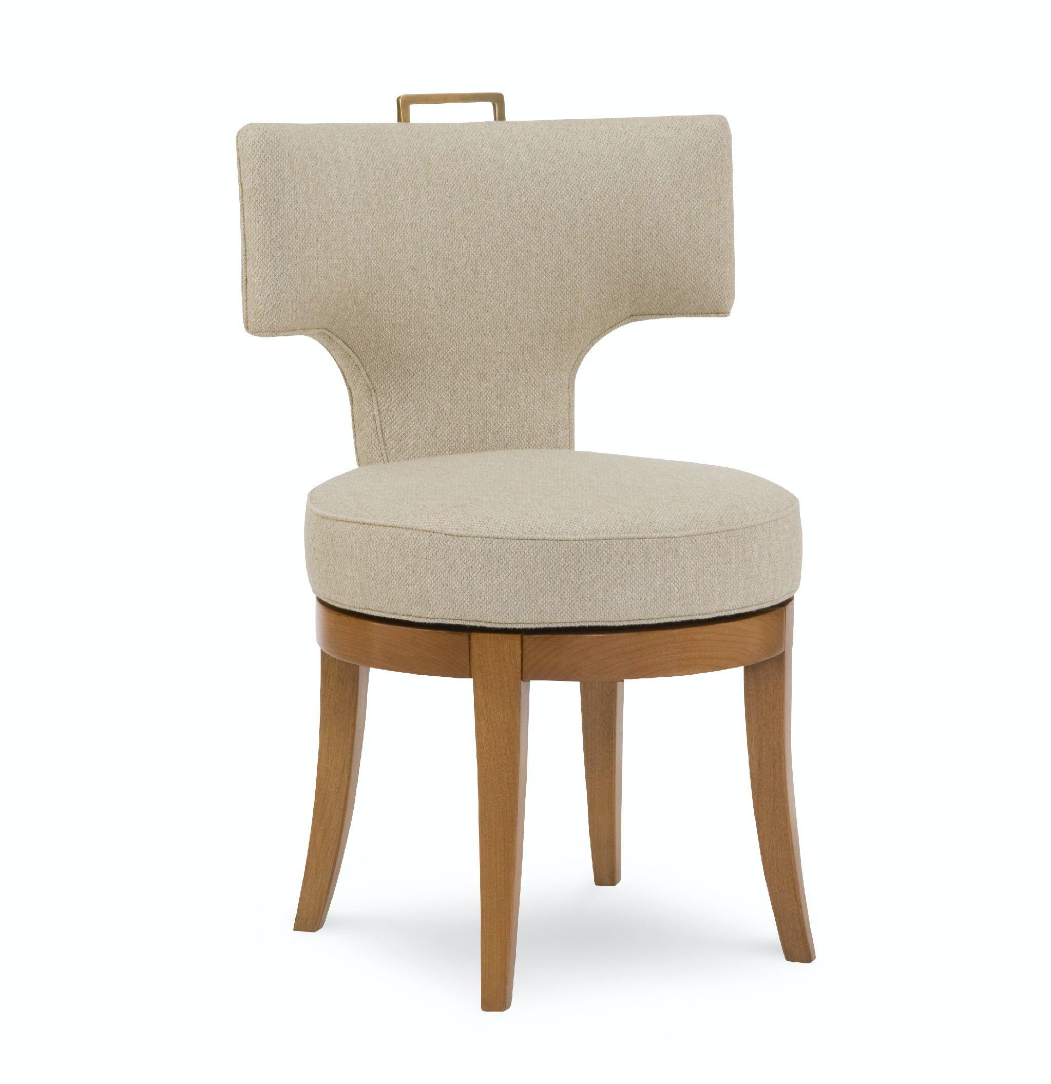 swivel chair quotes salon mat chaddock dining room kerylos de0384 studio