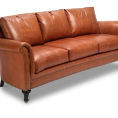 Ferguson Copeland Leather Sofa Sunroom Sofas Menzilperde