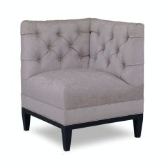Hickory Chair Banquette Wheelchair You Blow Into Chaddock Kitchen Gatsby Tufted U1726