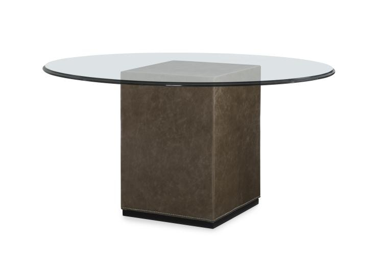upholstered dining table base