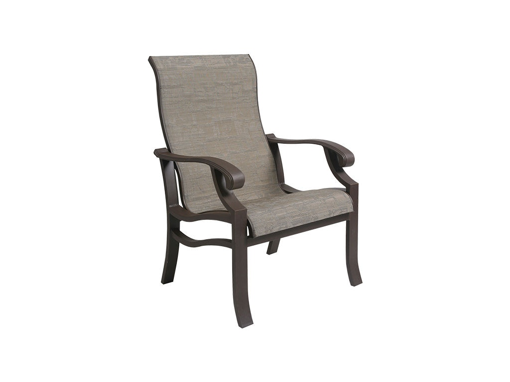 outdoor sling chairs canada sleeper chair folding foam bed target mallin casual patio dining an 120