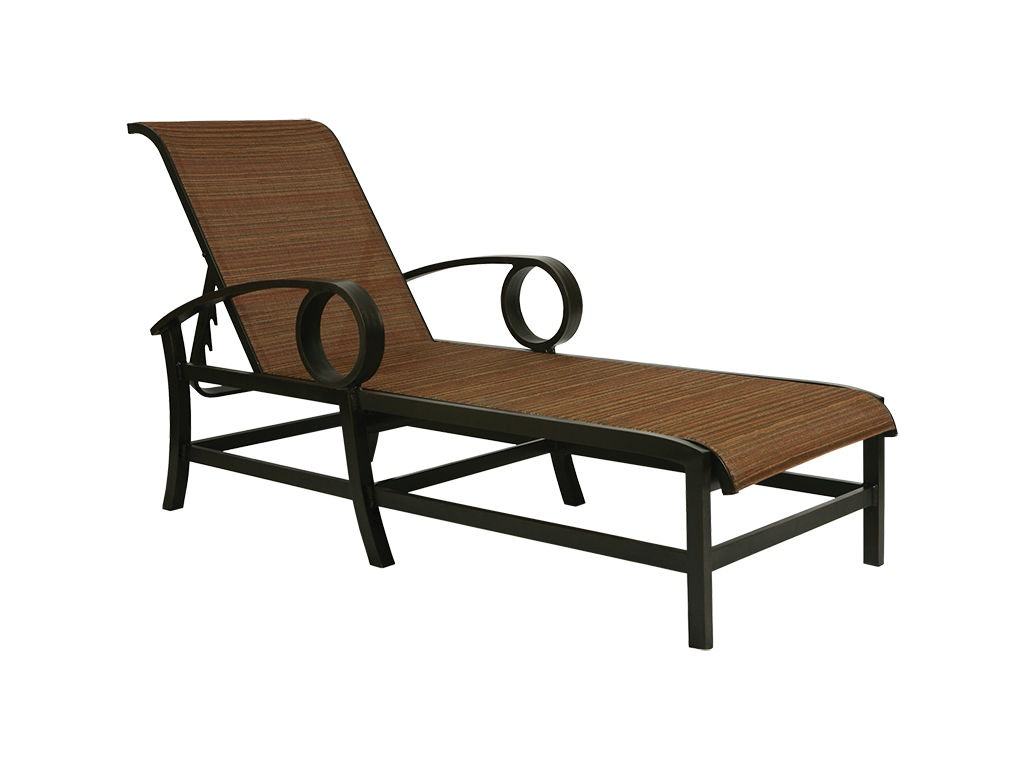 outdoor sling chairs canada are lift covered by medicare mallin casual patio chaise ep 217 mcarthur