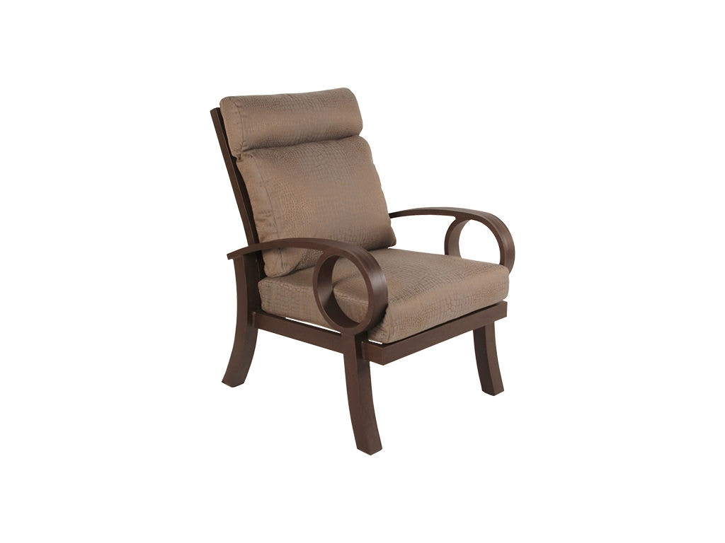 dining chair covers calgary for wooden chairs mallin casual outdoor patio cushion ep 510