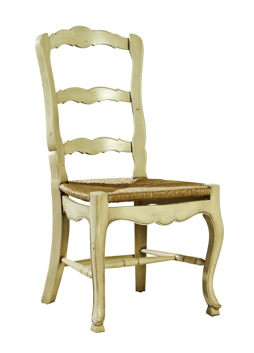 country french side chairs baby shower wicker chair furniture classics dining room ladderback