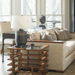 Tommy Bahama Living Room Decorating Accent Walls Home Nobu Square Lamp Table 556 954 Paul